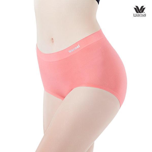 Wacoal Oh my nudes Half Panty Set 2 ชิ้น รุ่น WU3998 สีส้ม (OR)