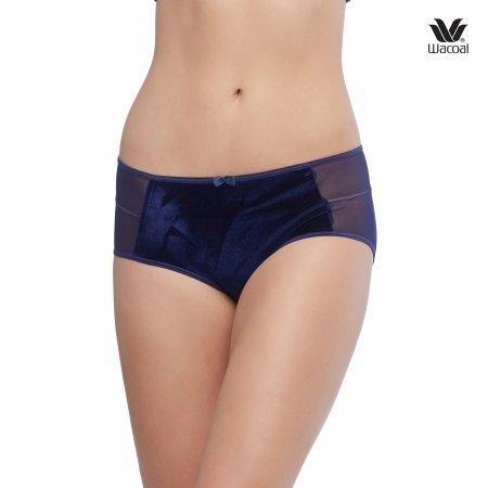 Wacoal Panty Boyleg Set 2 ชิ้น รุ่น WU8414 สีน้ำเงิน (BU)