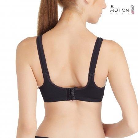 Wacoal Motion Wear Bra รุ่น WR1485 สีดำ (BL)