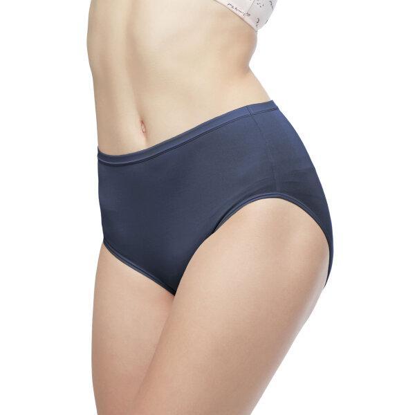 วาโก้ กางเกงใน เต็มตัว (Wacoal Value Pack Bikini Panty) รุ่น WU4M01(WU4C34) set 5 ชิ้น สีน้ำเงินเข้ม (BU)