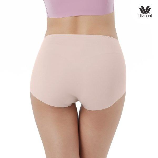 Wacoal Oh my nudes Short Panty Set 2 ชิ้น รุ่น WU4690 สีชมพูกุหลาบป่า (WR)
