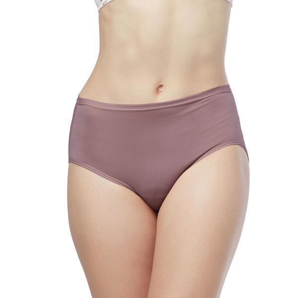 วาโก้ กางเกงใน เต็มตัว (Wacoal Value Pack Bikini Panty) รุ่น WU4M01 set 5 ชิ้น สีน้ำตาลไหม้ (BT)
