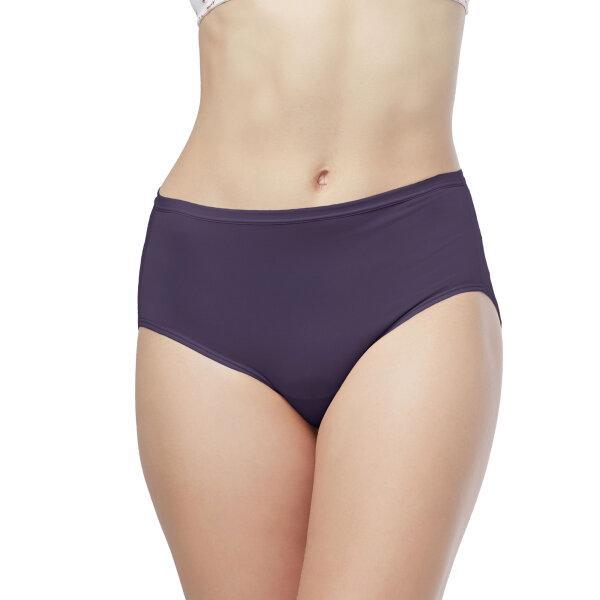วาโก้ กางเกงใน เต็มตัว (Wacoal Value Pack Bikini Panty) รุ่น WU4M01(WU4C34) set 5 ชิ้น สีม่วงออกน้ำเงิน (PU)