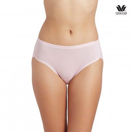 Wacoal Bikini Panty Set 3 ชิ้น รุ่น WU1M01 สีชมพูดอกคาร์เนชั่น (CP)