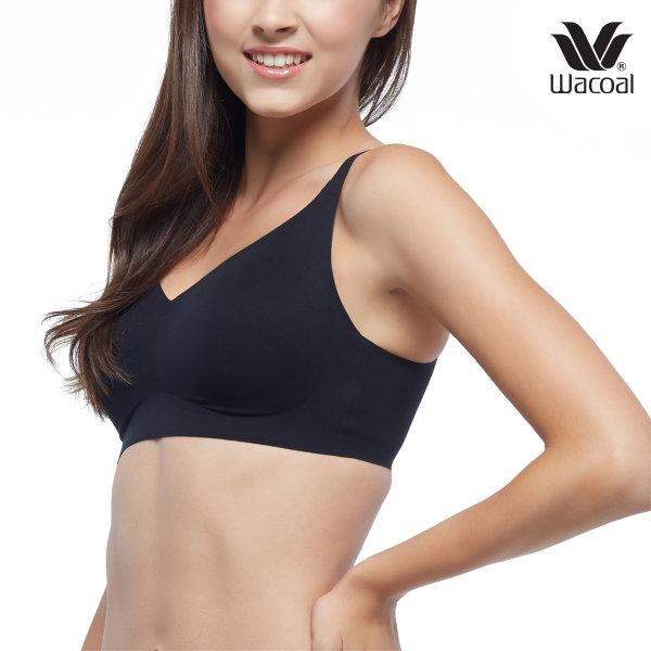 วาโก้ S M L บรา Gen ใหม่ เลือกง่าย ใส่สวย Wacoal Go Girls รุ่น WB3Y12 สีดำ (BL)