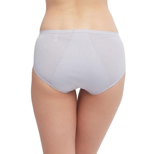 วาโก้ กางเกงในอนามัย ครึ่งตัว (Wacoal Hygieni Night Short Panty) รุ่น WU5051 Set 3 ชิ้น สีเทา(GY)
