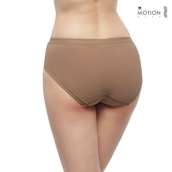 วาโก้ กางเกงในสำหรับออกกำลังกาย Wacoal Motion Wear รุ่น Athleisure WR6518 สีน้ำตาล (BR)