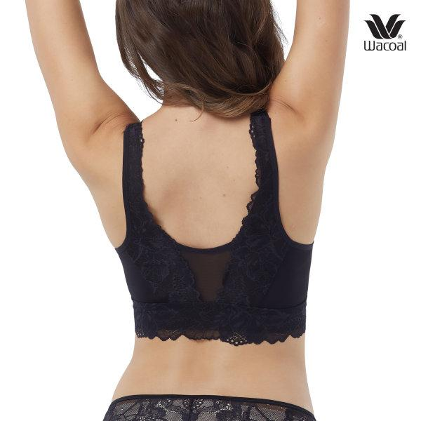 Wacoal Multi Style Casual Wireless bra รุ่น WH9B92 สีดำ (BL)