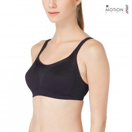 Wacoal Motion Wear Bra รุ่น WR1486 สีดำ (BL)