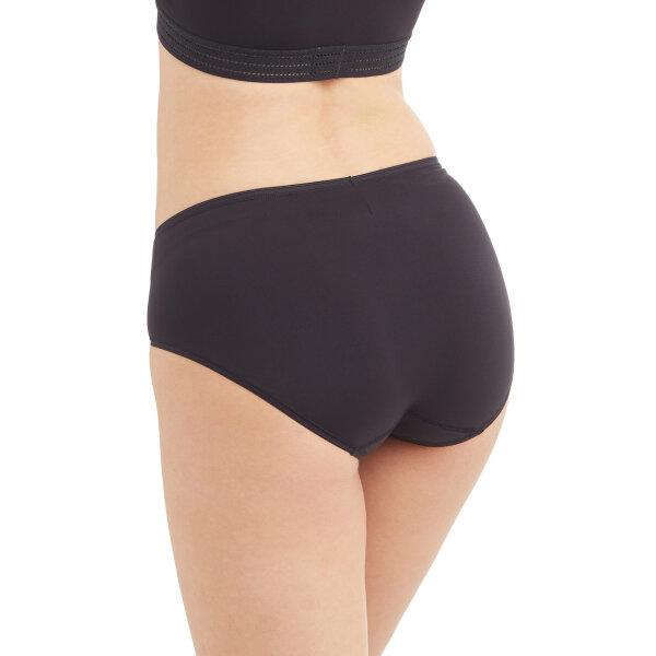 วาโก้ กางเกงในนุ่มสบาย ครึ่งตัว (Wacoal super soft Half Panty) รุ่น WU3811 Set 5 ชิ้น สีดำ (BL)