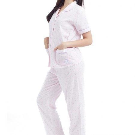 Wacoal Night wear รุ่น WN9M04 สีชมพู (PI)