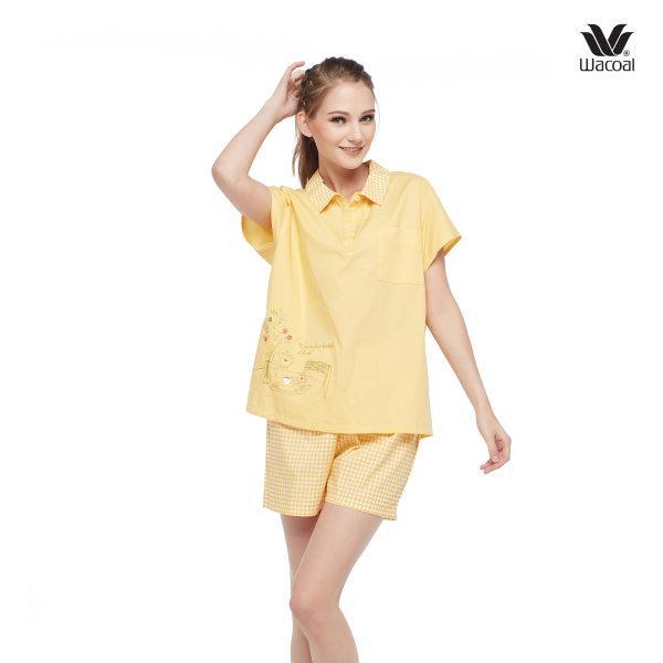 วาโก้ ชุดนอน Wacoal Night Wear รุ่น WV2M41 สีเหลืองทอง (YG)