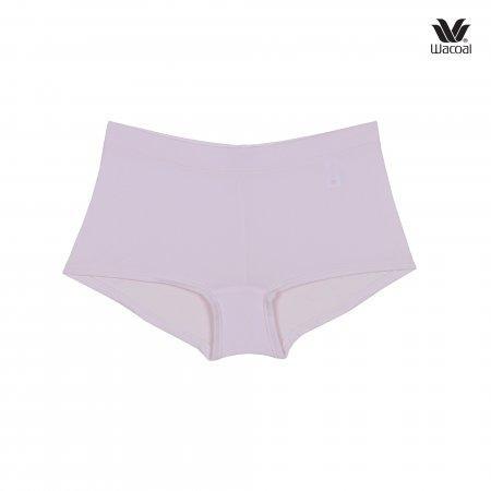 Wacoal Boyleg Tactel Panty Set 3 ชิ้น รุ่น WU8459 สีดำ (BL),สีครีม (CR),สีชมพูอ่อน (LP)