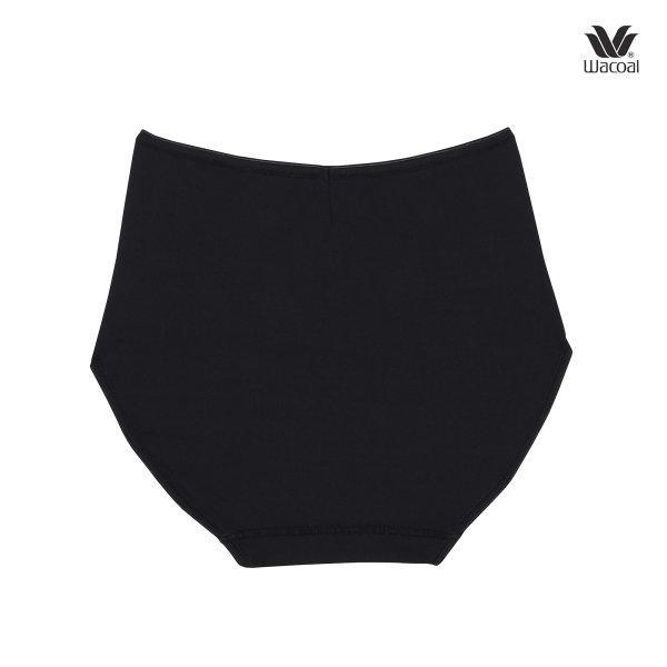 Wacoal Short Panty กางเกงในรูปแบบเต็มตัว เซ็ต 3 ชิ้น รุ่น WU4811 สีดำ (BL)