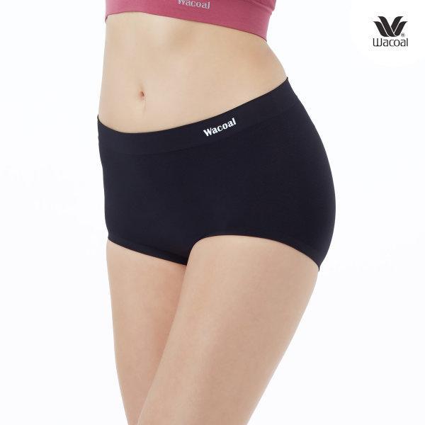Wacoal Oh my nudes Half Panty Set 2 ชิ้น รุ่น WU3998 สีดำ (BL)