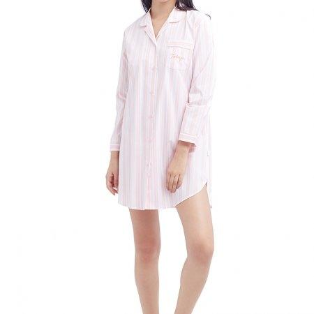 Wacoal Night wear รุ่น WV8M01 สีชมพูอมเทา (GO)