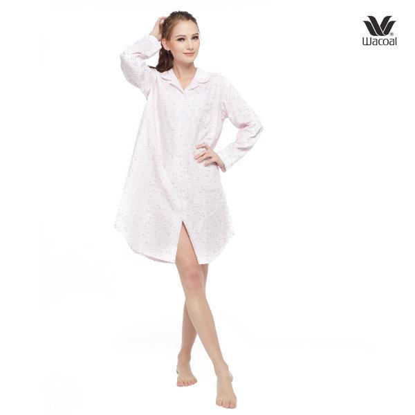Wacoal Night Wear รุ่น WN8M06 สีชมพู (PI)