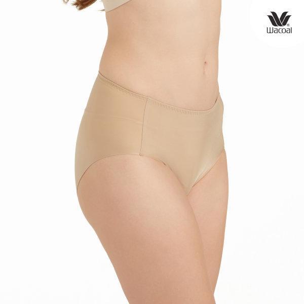 Wacoal Oh My Nude Half Panty Set 2 ชิ้น รุ่น WU3966 สีโอวัลติน (OT)