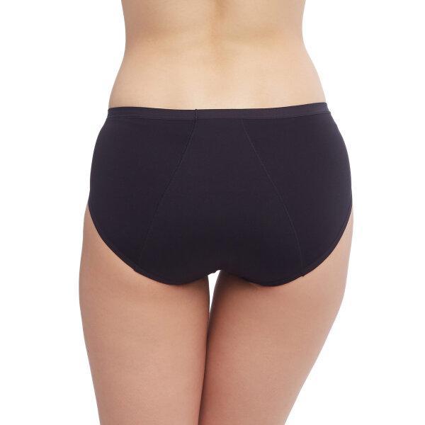 วาโก้ กางเกงในอนามัย ครึ่งตัว (Wacoal Hygieni Night Short Panty) รุ่น WU5202 Set 5 ชิ้น สีดำ (BL)