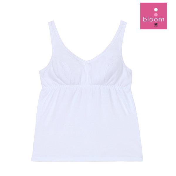 Wacoal Bloom Step 2 รุ่น WH6M62 เสื้อบังทรงกึ่งยกทรง แบบเรียบ สีขาว (WH)
