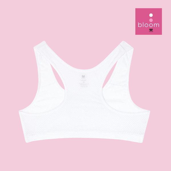 Wacoal Bloom Step 1 รุ่น WH6K05 เสื้อกล้ามครึ่งตัว แบบสปอร์ต สีขาว (WH)