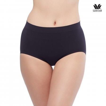Wacoal Panty Oh my nude : Half รุ่น WU3906 Set 2 ชิ้น สีดำ (BL)