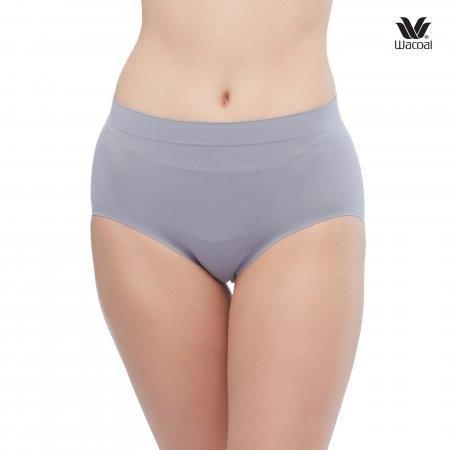 Wacoal Oh my nudes Half Panty Set 2 ชิ้น รุ่น WU3906 สีเทา (GY)