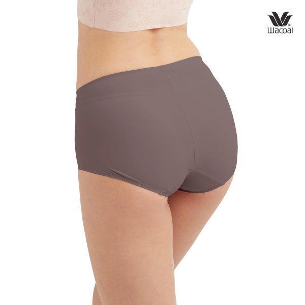 Wacoal V-Support Short Panty Set 2 ชิ้น รุ่น WU4873 สีน้ำตาลไหม้ (BT)