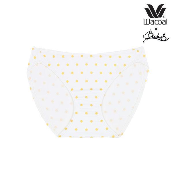 Wacoal X Binko รุ่น WB3Y04,W63Y04 สีเหลือง (YE)