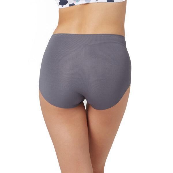 วาโก้ กางเกงในไร้ขอบ เต็มตัว (Wacoal Oh my nude Short Panty) รุ่นWU4199 Set 3 ชิ้น สีเทาเข้ม (DG)