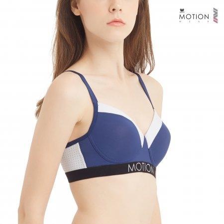 Wacoal Motion Wear รุ่น WR1241 สีน้ำเงินเข้ม (NB)