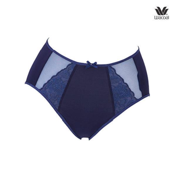 Wacoal Luxury Panty รุ่น WD8061 สีน้ำเงิน (BU)