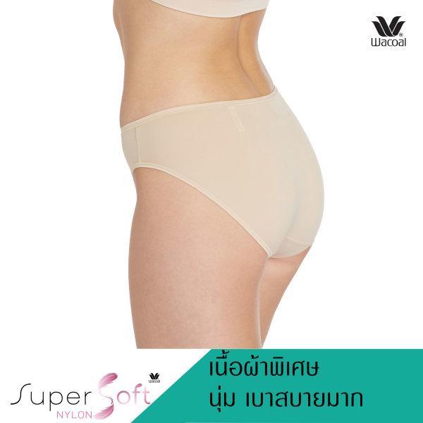 Wacoal Super Soft Basic Bikini Panty Set 3 ชิ้น รุ่น WU2811 สีเบจ (BE)
