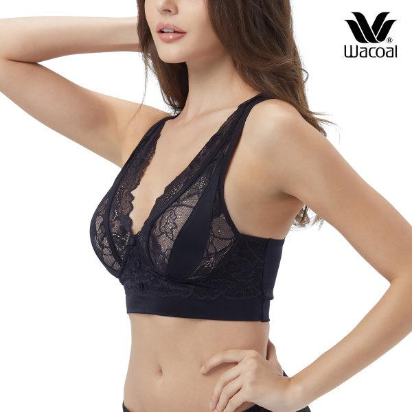 Wacoal Multi Style Casual Wireless bra รุ่น WH9B96 สีดำ (BL)