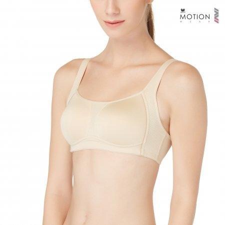 Wacoal Motion Wear Bra รุ่น WR1487 สีเบจ (BE)