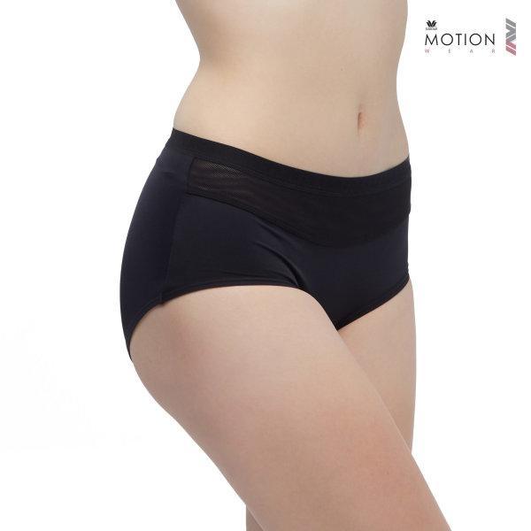 Wacoal Motion Wear Panty รุ่น WR6516 สีดำ (BL)