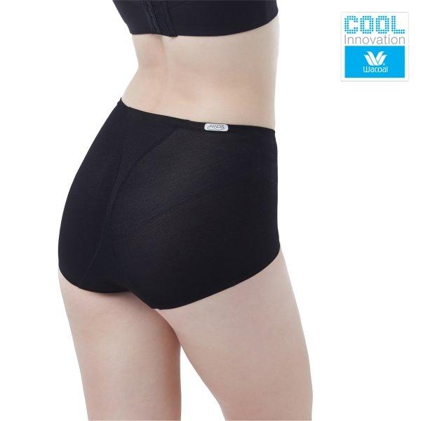 Wacoal Delicate Cool Hips รุ่น WY1170 สีดำ (BL)