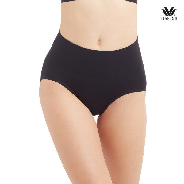 Wacoal Short Secret Support Panty Set 2 ชิ้น รุ่น WU4M17 สีดำ (BL)