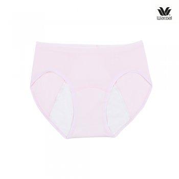 Wacoal Hygieni Night Panty Set 2 ชิ้น รุ่น WU5202 สีดำ (BL)