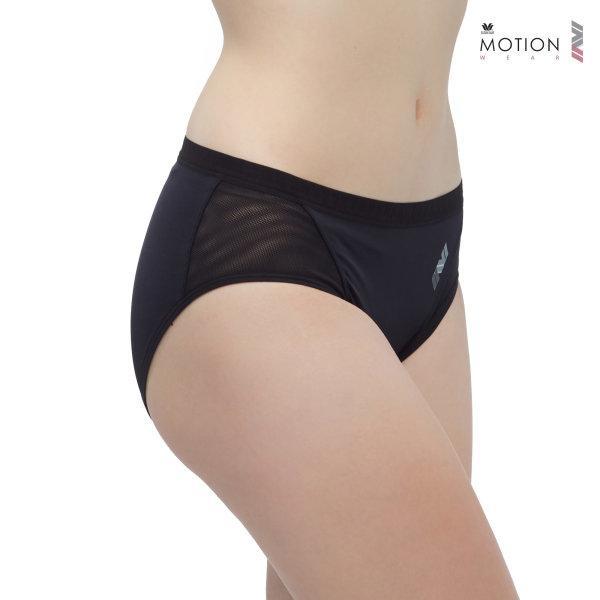 วาโก้ กางเกงในสำหรับออกกำลังกาย Wacoal Motion Wear รุ่น WR6515 สีดำ (BL)