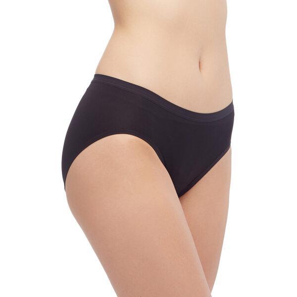 วาโก้ กางเกงในอนามัย ครึ่งตัว (Wacoal Hygieni Night Short Panty) รุ่น WU5202 Set 3 ชิ้น สีดำ (BL)