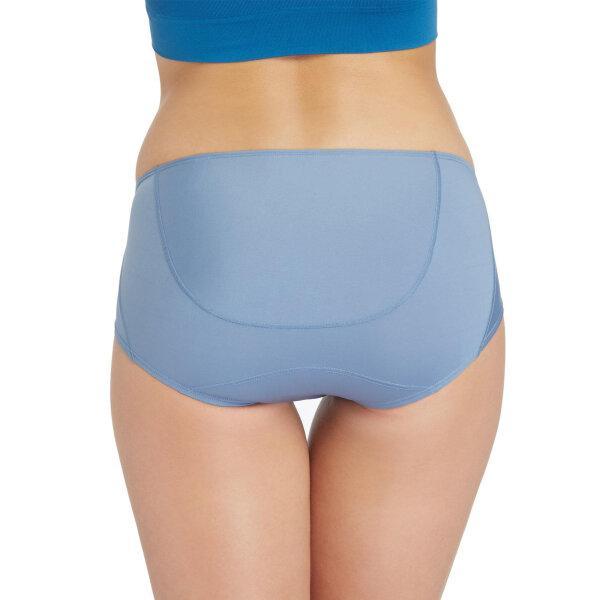วาโก้ กางเกงในไม่เข้าวิน (Wacoal U-Fit Bikini Panty) Set 2 ชิ้น รุ่น WU2986 สีน้ำเงินเข้ม (NB)
