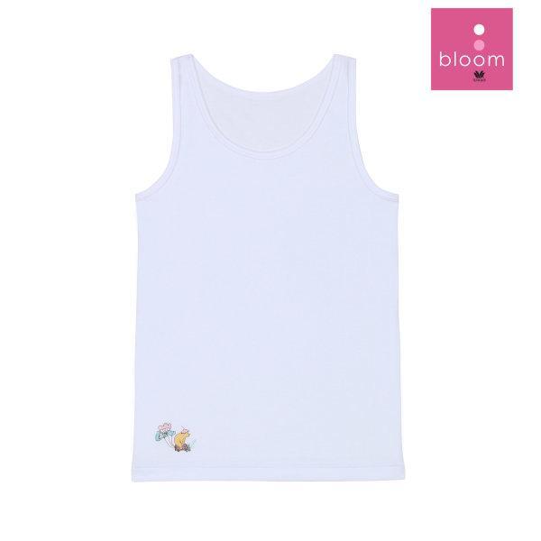 Wacoal Bloom Step 1 เซ็ต 4 ชิ้น รุ่น WH6B85 เสื้อกล้ามบังทรง แบบมีลาย สีขาว (WH)
