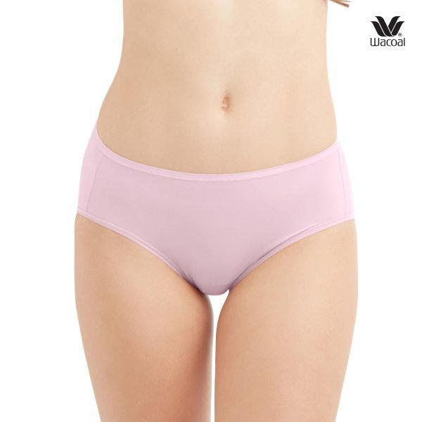 Wacoal Super Soft Half Panty Set 3 ชิ้น รุ่น WU3811 สีชมพูกุหลาบป่า (WR)