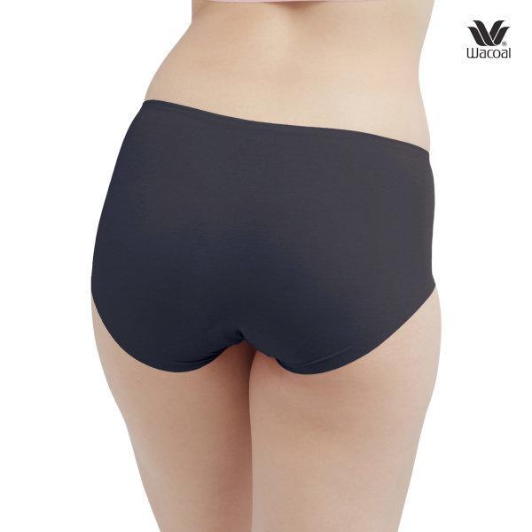 Wacoal Feel Free  Short Panty Set 2 ชิ้น รุ่น WU4929 สีดำ (BL)