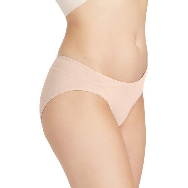 วาโก้ กางเกงในเอวต่ำ บิกีนี (Wacoal Oh my nude Low Rise V - Cut Bikini Panty) รุ่น WU2458 Set 3 ชิ้น สีเนื้อ (NN)