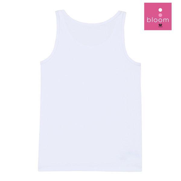 Wacoal Bloom Step 1 เซ็ต 4 ชิ้น รุ่น WH6B84 เสื้อกล้ามบังทรง แบบเรียบ สีขาว (WH)