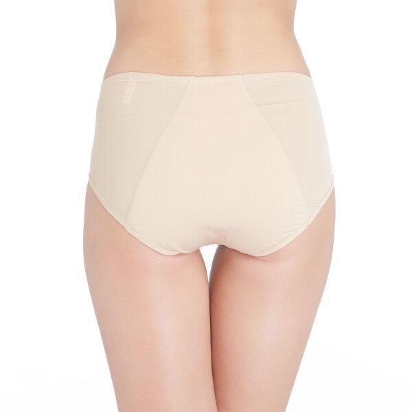 วาโก้ กางเกงในอนามัย ครึ่งตัว (Wacoal Hygieni Night Short Panty) รุ่น WU5051 Set 5 ชิ้น สีเนื้อ(NN)
