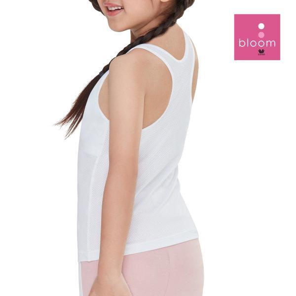 Wacoal Bloom Step 1 รุ่น WH6B92 เสื้อกล้ามตัวยาว แบบสปอร์ต สีขาว (WH)