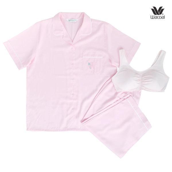 Wacoal Night Wear Gift Set รุ่น WV3B01 สีชมพู (PI)